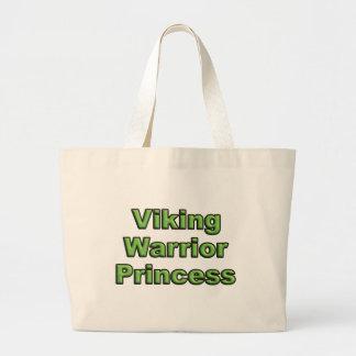 Viking Warrior Princess Large Tote Bag