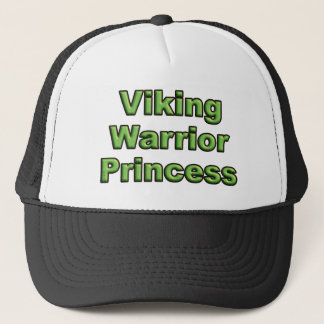 Viking Warrior Princess Trucker Hat