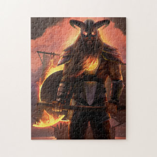 Viking Warrior Puzzle