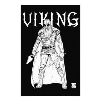 Viking Warrior Stationery