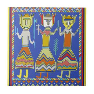 Viking Warriors Tile