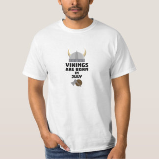 Vikings are born in July Znz0k T-Shirt