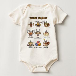 Vikings Baby Bodysuit