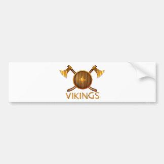 Vikings Bumper Sticker