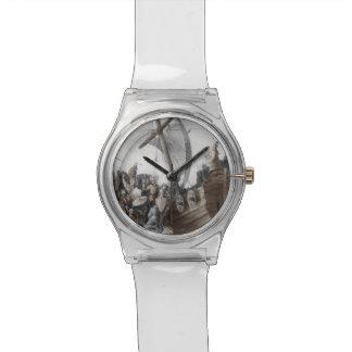 Vikings in Longboat Wristwatch