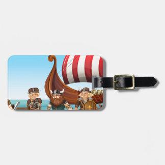 Vikings Luggage Tag