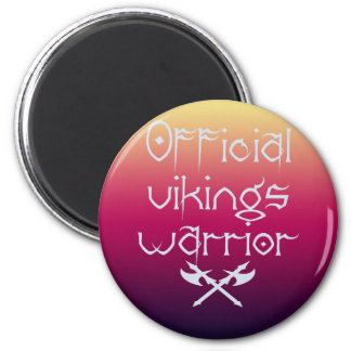 Vikings magnetto 2 inch round magnet