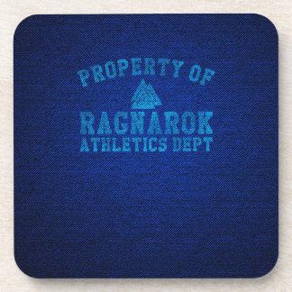 Vikings Property of Ragnarok Athletics Department Coaster