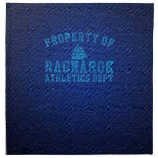 Vikings Property of Ragnarok Athletics Department Napkin