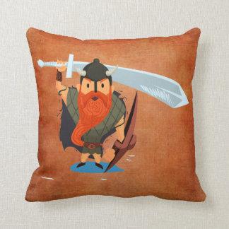 Vikings Rule Throw Pillow