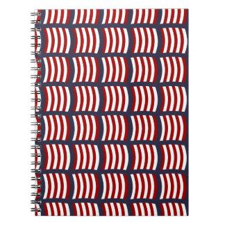 Vikings Sail Pattern Notebook