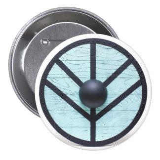 Vikings Shield Maiden 3 Inch Round Button