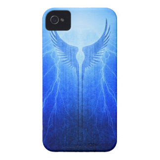 Vikings Valkyrie Wings of Protection Storm iPhone 4 Case