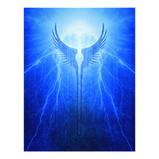 Vikings Valkyrie Wings of Protection Storm Letterhead