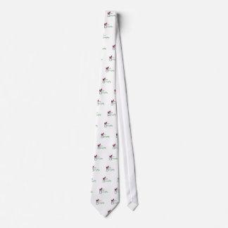 Vilain gentil cravate customisée