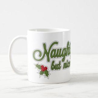 Vilain mais gentil---Vérité de Noël ! Mug Blanc