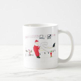 Vilain ou gentil tasse à café