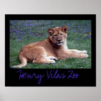 Vilas Zoo Cub Poster
