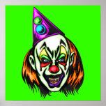 Vile Evil Clown Posters