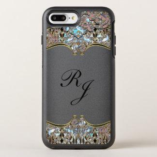 Villa Baroque French Monogram OtterBox Symmetry iPhone 8 Plus/7 Plus Case