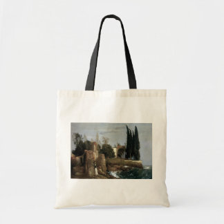 Villa By The Sea by Arnold Bocklin, Symbolism Art