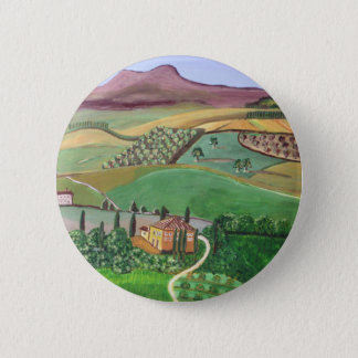 Villa in the Hill 2 Inch Round Button
