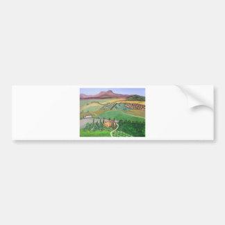 Villa in the Hill Bumper Sticker