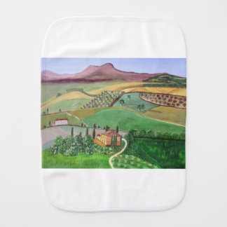 Villa in the Hill Burp Cloth