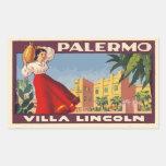 Villa Lincoln (Palermo - Italy) Autocollants