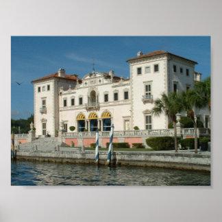 Villa Vizcaya Poster