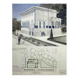 Villa Wagner, Vienna Postcard