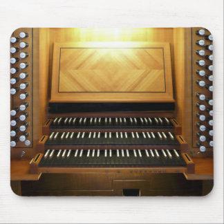 Villach organ console mousepad