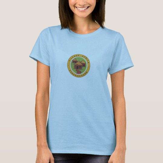 Village Africa fitted ladies t-shirt