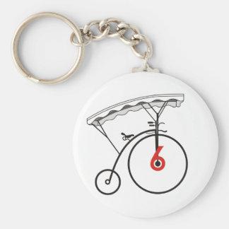 Village Badge Keychain