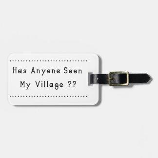 Village Bag Tag