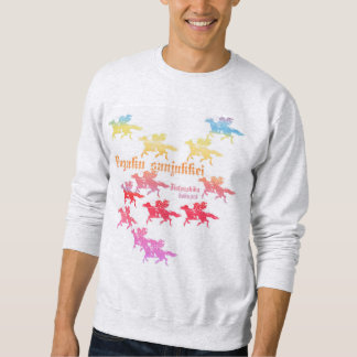 Village colorful of Sumida river Seki house Sweatshirt