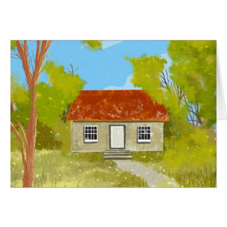 village house Card