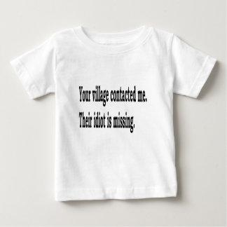 Village Idiot Baby T-Shirt