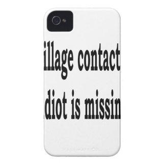 Village Idiot iPhone 4 Case