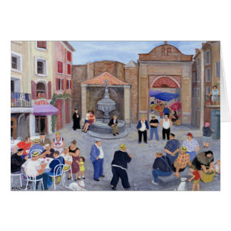 Village in Provence Card