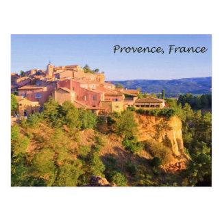 Village In Provence, France Postcard