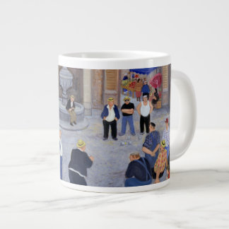 Village in Provence Large Coffee Mug