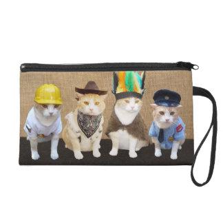Village Kitties Bagettes Bag Wristlet Purses