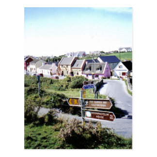 Village of Doolin, Ireland Postcard