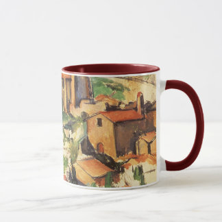 Village of Gardanne by Paul Cezanne, Vintage Art Mug