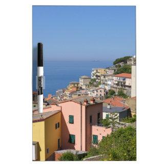Village of Riomaggiore in Italy Dry Erase White Board
