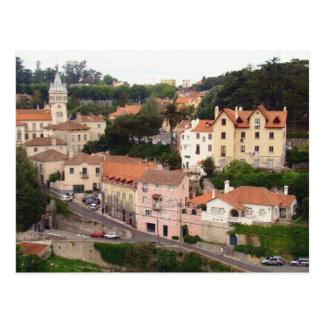 Village of Sintra in Portugal Postcard