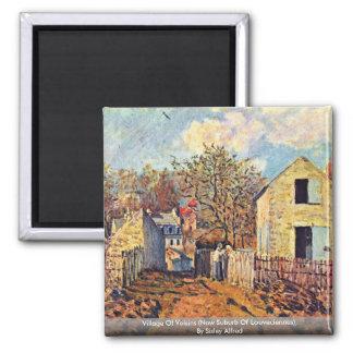 Village Of Voisins (Now Suburb Of Louveciennes) Magnet