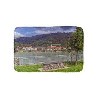 Village of Willendorf on the river Danube, Austria Bath Mat