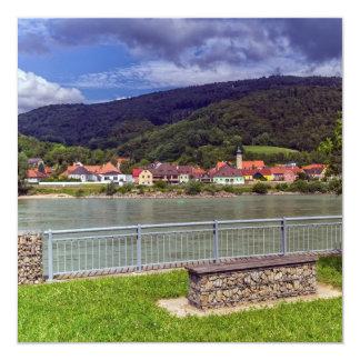 Village of Willendorf on the river Danube, Austria Card